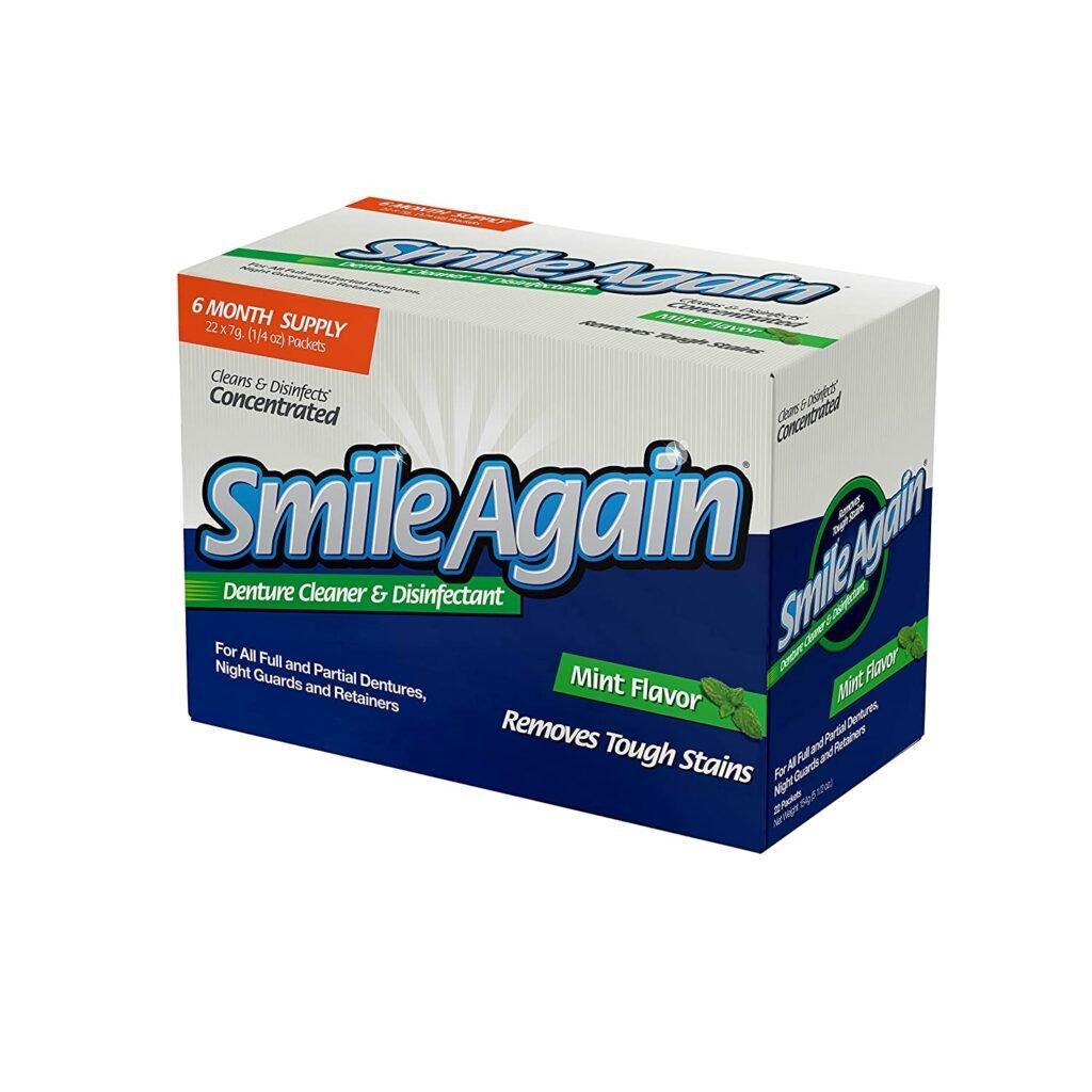 smile again denture cleaner