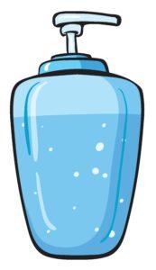 liquid soap container
