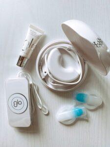 glo whitening brilliant 5