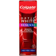 colgate optic white renewal
